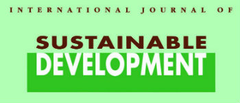 International Journal of Sustainable Development